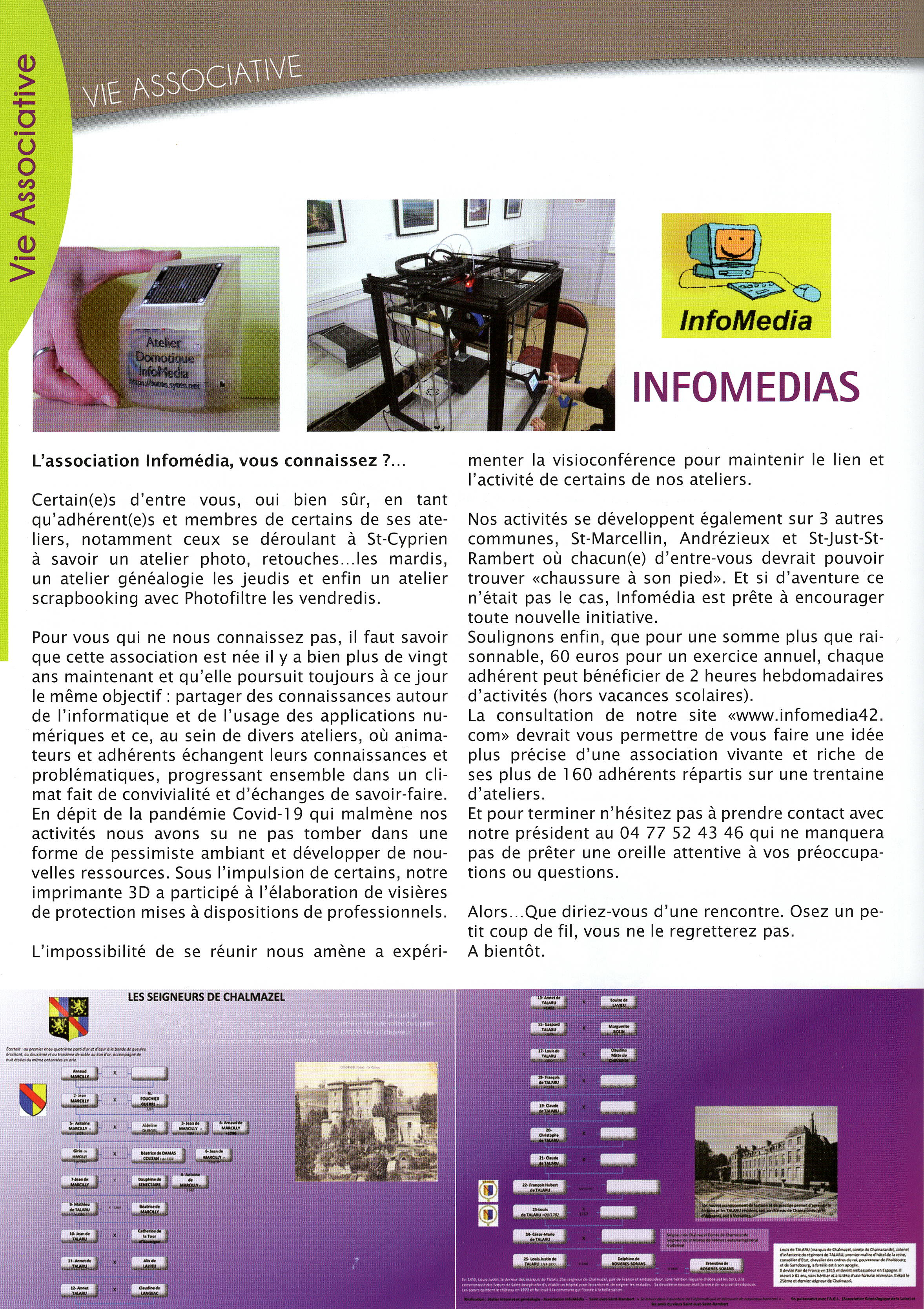 Article revue municipale Saint Cyprien 2
